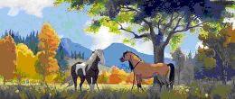 Puledra libera sul cavallo - 4 10